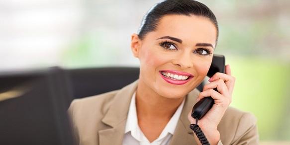 Switchboard Operator Answering Telephone